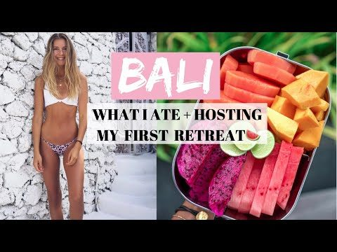 BALI VLOG🍉🌴 HOSTING MY FIRST FITNESS & NUTRITION RETREAT + WHAT I ATE !!