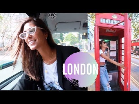 first time to London   travel vlog