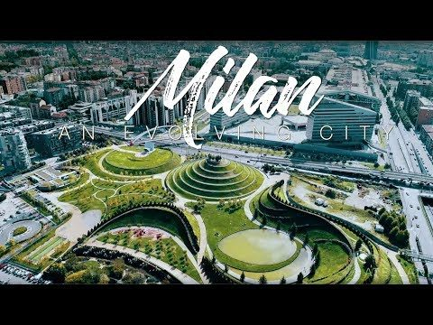 Milan An Evolving City | 4K drone footage of Milano Skyline in Italy