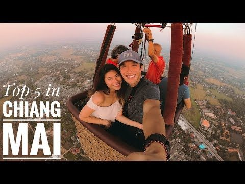 Top 5 MUST DO In CHIANG MAI (Thailand) – Vlog #109